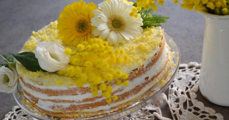 MIMOSA NAKED CAKE